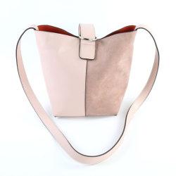 Agua simplediseño de costura de moda femenina de la bolsa de la cuchara de cuero
