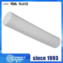 340 % Dehnung Dia6mm-300mm 100 % 2,1--2,3g/cm3 Spritzgussstab aus jungfräulichem PTFE