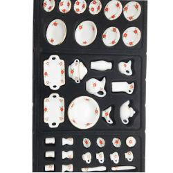 Dollhouse regalo de recuerdo el modelo de cerámica en miniatura
