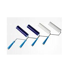 Rolo de cola para salas brancas do rolete descartáveis para limpeza de pó