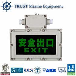 Indicatore luminoso protetto contro le esplosioni di Indicatior del segno dell'uscita di sicurezza del LED