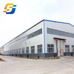 El Bastidor de Prefabricados de Estructura de Acero Estructura de Acero de Diseño Personalizado para la Construcción de Almacén O Taller/supermercado/Hangar