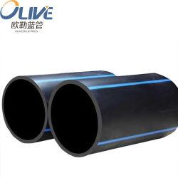 Tubo de plástico de HDPE PE100 Pn25 tubo de água de Alta Pressão