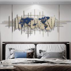 [وورلد مب] وبيضاء وذهبيّة جدار فنية لأنّ يعيش غرفة وزخرفة بينيّة