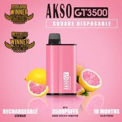 Produits les plus populaires Akso Gt jetable 2500 Puff avec le meilleur Saveur