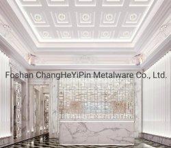 Customized 304# vermelho em aço inoxidável Bronze Visor decorativas Prateleiras Prateleira móveis domésticos