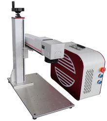 30W волокна станок для лазерной маркировки на стальные металлические часы камеры
