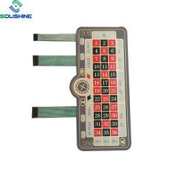 Comitato su ordinazione dell'interruttore di membrana per la tastiera elettronica della serratura di codice