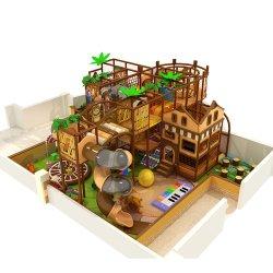 معدات ملعب داخلي مع لعب للأطفال الناعم وقلعة القفز (HD-16SH01)