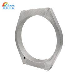 El espesor de pared personalizado adaptado de salida de fábrica de aleaciones de silicio de aluminio