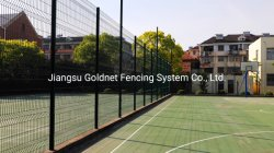 مجلفنة 868 656 أنظمة أمنية مؤقتة لحام الفولاذ ثلاثي الأبعاد مفرد شبكة الأسلاك شبكة الرياضات على شبكة الجدار حديقة