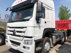 Vrachtwagen van de Tractor CNG van de Vrachtwagen van de Aanhangwagen van de Tractor van China HOWO de Semi 6X4 Gebruikte voor Verkoop