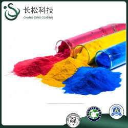 (Freie Probe) Epoxy/Polyester Harz-Farbstoffe Pulverbeschichtungen Sprühfarbe Elektrostatische Sprühbeschichtungen