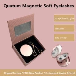 أسلوب جديد Quantum eyelash Extensions الجمال الساحر الرماد المغناطيسي الكمي مجموعة عين ناقص مينك