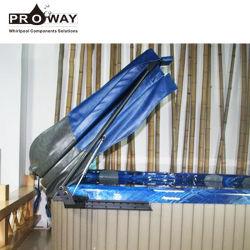 Negro moderno de 90 grados de 50kg capacidad de carga Swim SPA elevador de cubierta