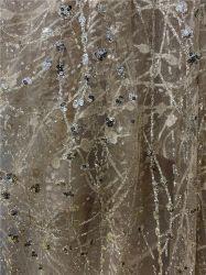 Tejidos de satén lunares forro de tejido satinado Imprimir tapizados de tela del traje de impresión de puntos de venta al por mayor