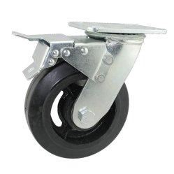 Kex5-H15 Movale Baugerüst-Serien-Schwarz-Gummifußrollen-Rad für Movale Baugerüst