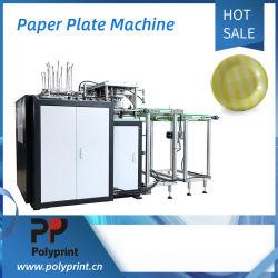 Automatique ronds/carrés dégradable/Rectangle les assiettes de papier machine de formage bac plat de décisions pour le Dîner pique-nique BBQ