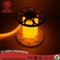 2017 노란색 12V/24V/120V/230V LED 네온 플렉스 램프 조명