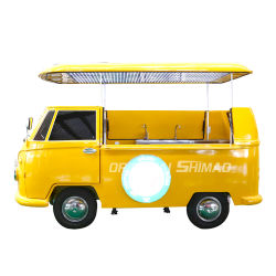 De beste Verkopende Vrachtwagen van het Voedsel van Filippijnen van de Club van de Delen van de Kar van het Golf Elektrische
