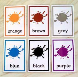Пластиковый водонепроницаемый цвет образования Flash карты памяти Compact Flash держателей карточек печать для детей