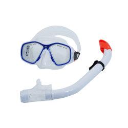 جهاز تنفس تحت الماء زجاج سليكوون [سترب&160]; [فر ديفينغ] ليّن زجاجيّة [سبرفيشينغ] [فريديفينغ] قناع من يثبت لأنّ شاش