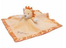 Muslin biológico animal Lovey Bebé Consolador Cobertor Consolador Toy Definido