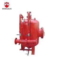 Tipo horizontal o vertical de la vejiga de espuma contra incendios depósito proporcionando la capacidad del tanque de presión de la espuma hasta 10000 litros