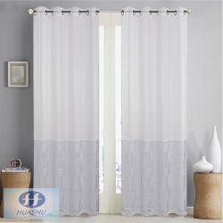 Polyester-blosser Fenster-Gewebe-Vorhang mit Vorgespinsten im Drucken-Anblick - #HS20007