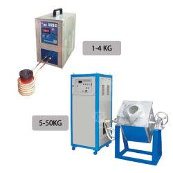 Электрический малых индуктивные плавильных печах для плавления золота с конкурентоспособной цене