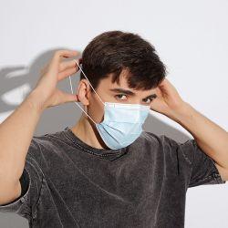 Großbestand Körperpflege Nordamerika Distributor 3-Lagige Einweg-Gesicht Maske