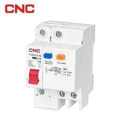 El disyuntor motorizado Interruptores de control 1 P 2P 3P 1A a 63DC RCCB ELCB RCBO