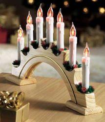 Arco a candela da 7 l con sfarfallio (A12601)