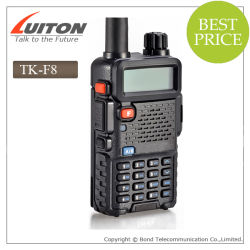 듀얼 밴드 VHF/UHF 무전기 Tk-F8 Walkie Talkie