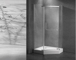 Mischer-gesetzter Bad-Bildschirm Frameless Glasdusche-Schrank-Kasten-Gehäuse-Badezimmer