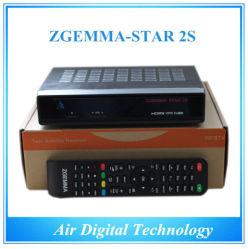 HD DVB S2&S sintonizador duplo sintonizador Samsung Receptor de Satélite com IPTV Zgemma-Star 2s