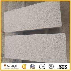 자연적인 17.5cm 두꺼운 싼 타오른 참깨 백색 회색 G603 화강암 돌 층계