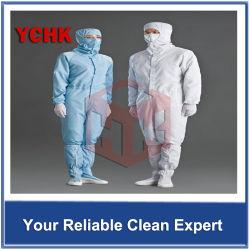 Antistatische Kleidung GMP-sauberer Raum-Kleidung für pharmazeutisches