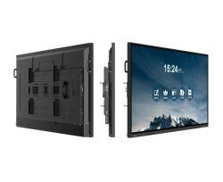 Schermo LCD da 65 pollici con più punti interattivo, lavagna interattiva, macchina per l'apprendimento per l'istruzione e le conferenze Smart TV LCD con schermo LCD e Smart TV