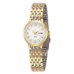 Frauen-Uhr-Dame-Uhr-Spitzenmarken-LuxuxEdelstahl-Dattel-Tagesquarz-Armband-Uhr für Frauen-Genf-Golduhr