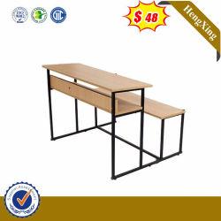 Muebles de madera de China la Escuela Estudio Desk Mesa Niños conjunto de mobiliario escolar para niños
