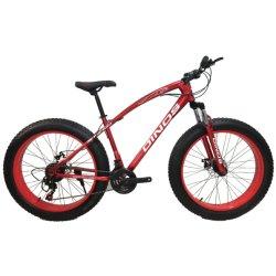 Direct van Factory Mountain Bike Fat Tire Snow Bike, Groothandel 20/26 inch Snow Bike met 4.0 Fat Tire Bicycle
