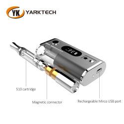Batteria Yarktech alla moda Ipure3 CBD 550 mAh Vape Pen
