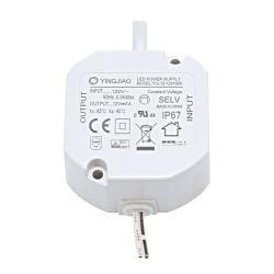 IP67 all'ingrosso impermeabilizzano il driver costante della corrente LED del rifornimento di corrente continua Del driver 12W del LED 350mA 500mA 700mA