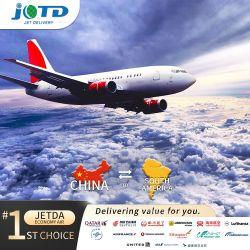 China aeropuerto Internacional El Dorado en Colombia la consolidación de contenedores LCL FCL Consignataria Mar Freight Forwarder