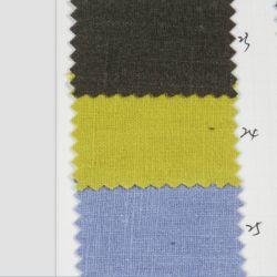 衣服のための方法標準的な織物80%のラミー20%の綿の砂の洗浄平野のデザインによって染められるファブリック