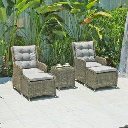 따뜻한 세일 현대적인 체이스 라운지 의자, 야외 수영장 가구 등나무 의자 파티오 위커 가든 레저 기능 의자