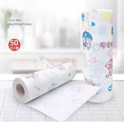 Superabsorbent Haushalts-nichtgewebte Wegwerfreinigungs-Küche, die faule Tellerrags-Putztücher abwischt