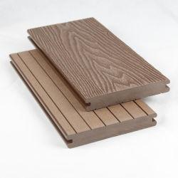 Legno artificiale impermeabile solido esterno che collega il pavimento composito dei materiali di Decking