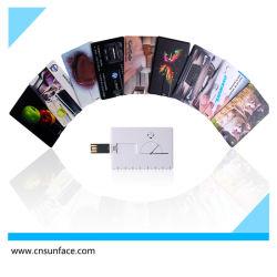 Carte de crédit commerciale lecteur Flash USB / carte clé USB